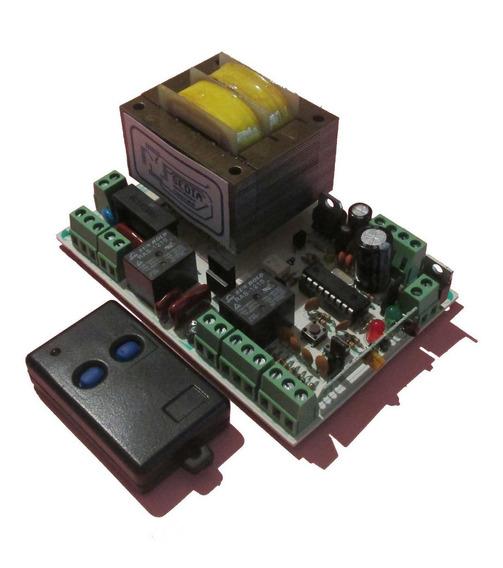 Central Portones Automáticos Universal Mod Ppa40 + Control
