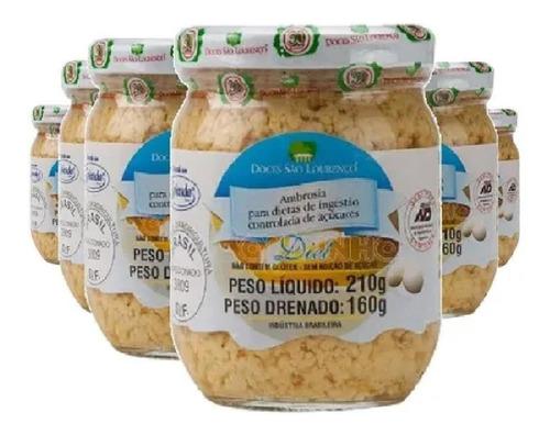Kit 6 Unidades Ambrosia Diet São Lourenço 210g