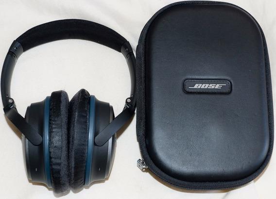 Fone Ouvido Anti Ruído Bose Qc25 Com Espumas Novas Grátis