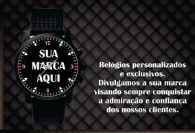 Relógio De Pulso Personalizado Sua Empresa Seu Logo Foto 5