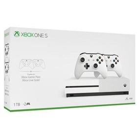 Console Xbox One S De 1 Tb | Dois Controles Sem Fio