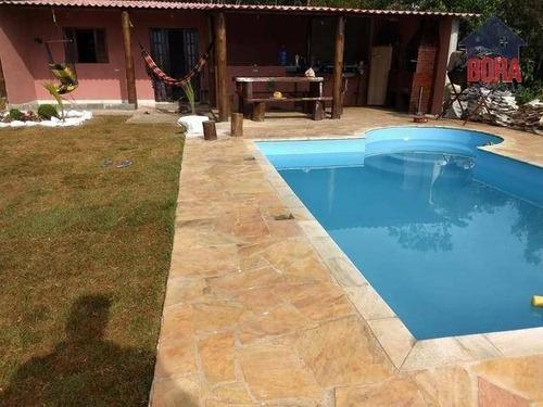 Chácara Com 3 Dormitórios À Venda, 250 M² Por R$ 270.000,00 - Cardoso - Mairiporã/sp - Ch0300
