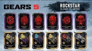 Códigos De Rockstar Para Gears 5 (5 Códigos)