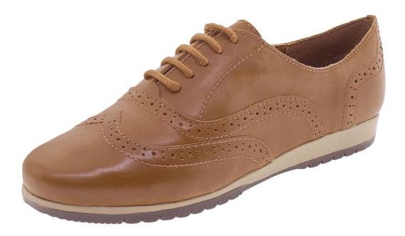 Sapato Feminino Oxford Bottero - 305401 Caramelo