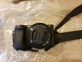 Camara Sony A6000