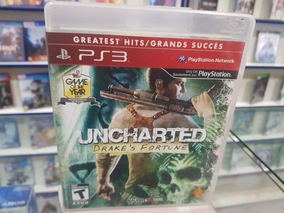 Uncharted Drakes Fortune Usado Manuais Ps3 Mídia Física