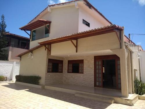 Imagem 1 de 12 de Casa Com 4 Dormitórios À Venda, 362 M² Por R$ 900.000,00 - Lagoa Nova - Natal/rn - Ca7289