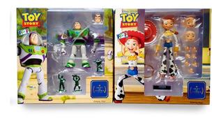 Jp Jessie & Buzz Lightyear Revoltech Toy Story Disney Pixar
