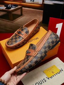 Zapatos Mocasines Louis Vuitton (bajo Pedido)