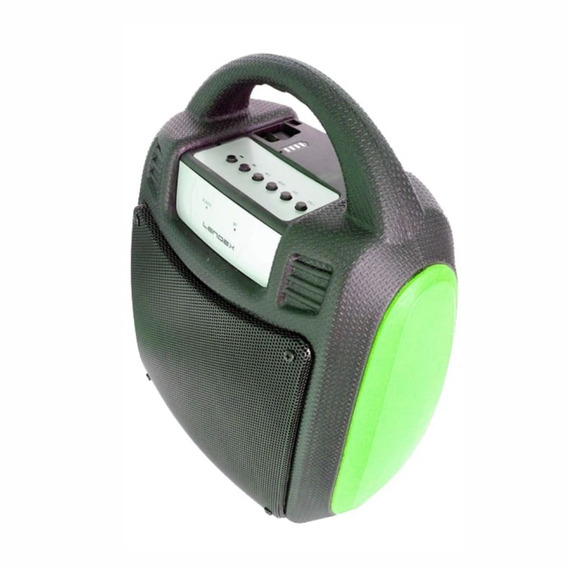 Caixa Som Portátil Bluetooth C/bateria Verde Lendex Ldcst30b