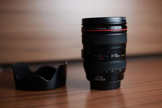 Lente Canon 24 105 F4 L