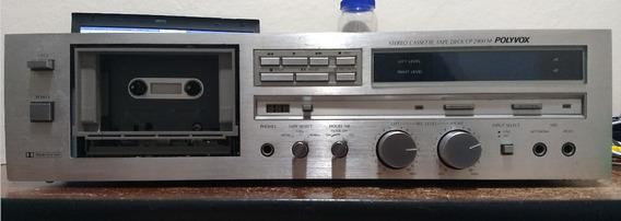Tape Deck Polyvox Cp2900m