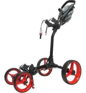 Golf Center Carro Powerbilt 4 Ruedas Portaparaguas Black/red