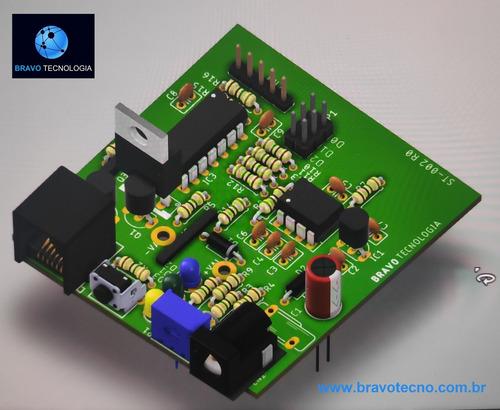 Imagem 1 de 10 de Projetos Eletrônicos, Layouts, Pcb/ Pci, Montagem Smd / Pth