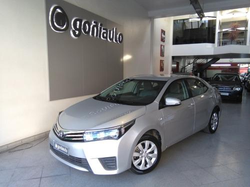 Imagen 1 de 13 de Toyota Corolla 2016 1.8 Xli Cvt Automatico