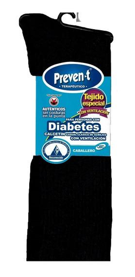 Calcetines Hombre Preven-t Pie Diabetico Ventilado Corto Par