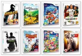 5 Patch De Jogos A Sua Escolha Wii