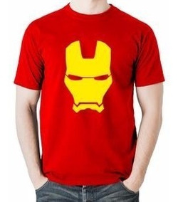 Playera Camiseta Iron Man Estampada