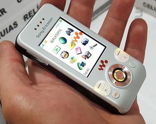 Celular Sony Ericsson W580 I Slaid Leds Mult-cores Camaleão