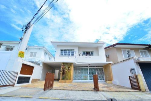 Imagem 1 de 27 de Casa Com 3 Dormitórios E Edícula, 271 M² Para Locação Por R$ 10.000/mês Na Região Da  Vila Nova Conceição - Ca1807