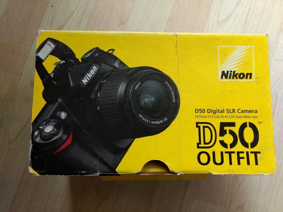 Câmera Nikon D50 Digital Slr 18-55mm F3.5-5.6g