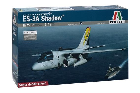 Aviao Es-3a Shadow Escala 1:48 Italeri Ita2735