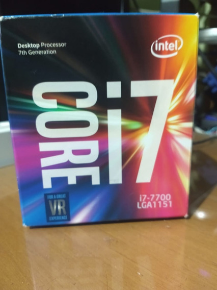 Processador Intel Core I7 7700 Kaby Lake Lga1151 7ª Geraçao 4.5ghz 8mb ( Leia A Descrição. )