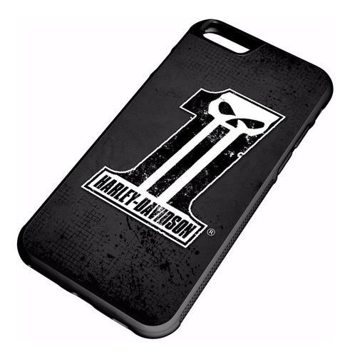 Imagen 1 de 2 de Protector Para iPhone - Harley Davidson - Uno Logo