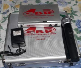 Microfonos Inalambricos Gbr Uhf 250
