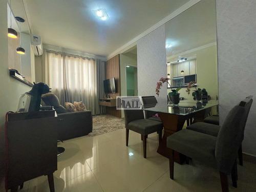 Apartamento À Venda No Rios Di Itália Com 2 Quartos E 47m² - V7144