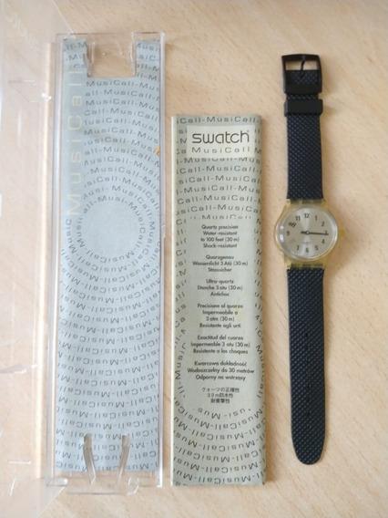 Relógio Swatch C/ Alarme - Mecanismo Sensacional! Veja Video