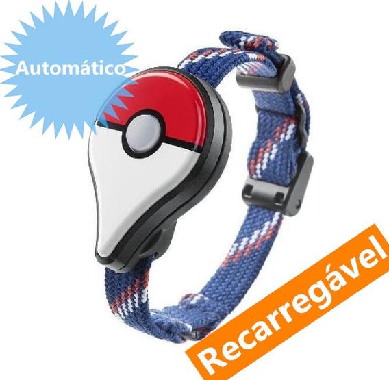 Pokemon Go Plus Pulseira Automático Recarregável