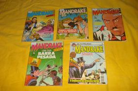 Mandrake Lote Nº 2 3 4 6 25 Bom Estado