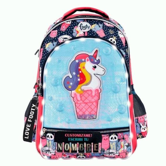 Mochila Footy 18 Unicornio Nombre F1273 (1207983)