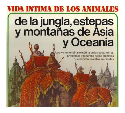 Imagen 1 de 4 de Libro Vida De Los Animales Jungla Estepa De Asia Y Oceanía