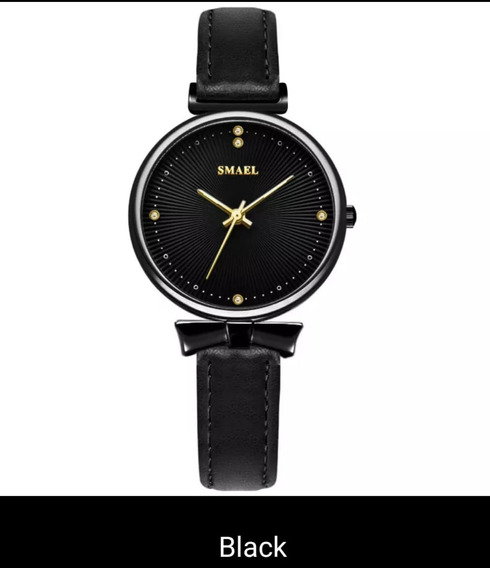 Relógio Feminino De Pulso - Smael Luxo - Resistente A Água