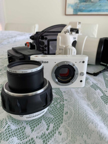 Nikon J1 + Caixa Estanque (40m) Original Nikon!!