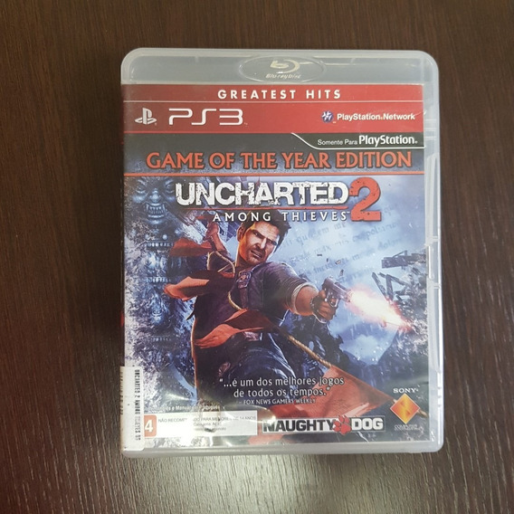 Uncharted 2 Amoung Thieves - Greatest Hits - Ps3 - M Fisica