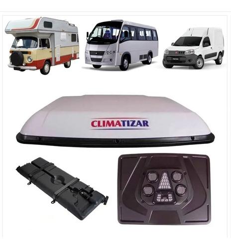 Climatizar Evolve Ar Caminhão Kombi Trailer Motorhome 12v