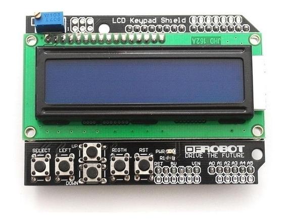 Display Lcd Keypad Shield 16x2 Teclado Botoes