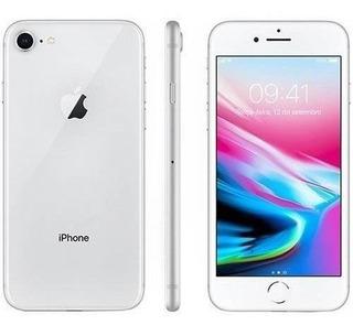 Apple iPhone 8 64gb Prata Seminovo