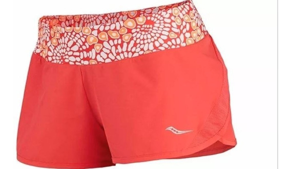 Short Pinnacle Saucony Ropa Deportiva Mujer Correr Deportes