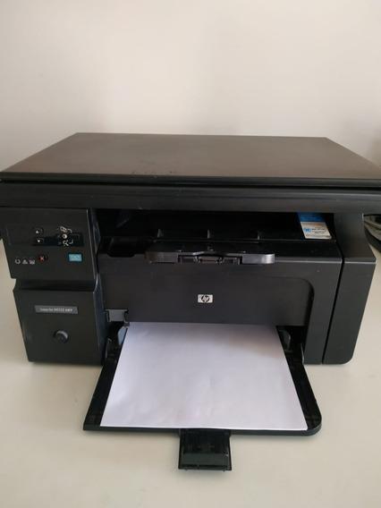 Impressora Hp Laserjet M1132mfp Com 2 Toners Novos De Brinde