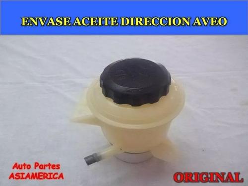 Envase Aceite Dirección / Hidráulica Chevrolet Aveo Original