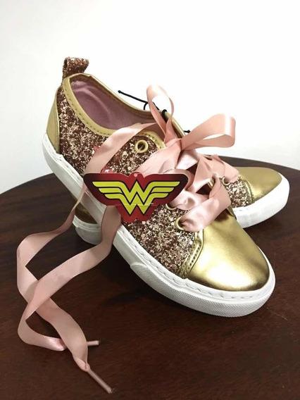 Zapatos Wonder Woman Originales Dc