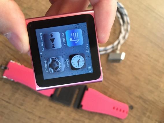 iPod Nano 6 Geração Apple 8g Mp3 Seminovo