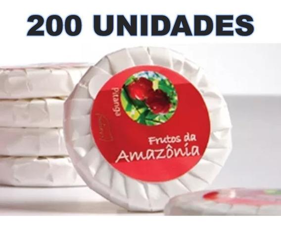 Kit 200 Mini Sabonete 20 Gr Luxo Pitanga Hotel Pousada