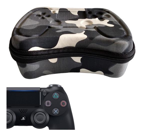 Hard Case Eva Para Controle Ps4 Dualshock 4 Estojo Protetor