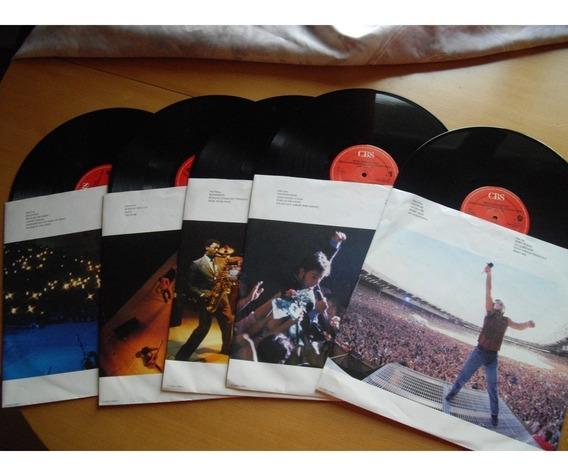 Bruce Springsteen & Street Band Live - Album Raro Lp Vinil