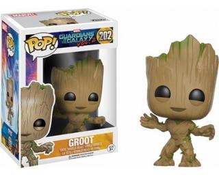 Baby Groot Funko Pop Guardianes De La Galaxia Vol 2 Marvel